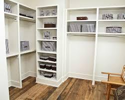 image of painted closet shelves diy