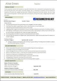 Format Of Teacher Resume Teacher Resume 100 Examples Resume 100 54