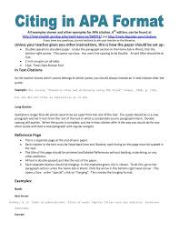 research paper apa style ideas of best photos of example of apa paper citation research paper