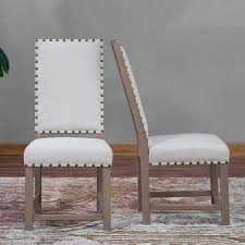 nailhead dining chairs dining room. Unique Nailhead Dining Chair For Your Room Decor: Vintage White With Chairs A