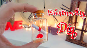 letter in a bottle cute valentines day crafts love letter in a bottle youtube