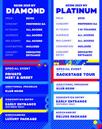 Kcon Seating Chart 2018 Kcon Ny Concert Tickets Kcon Usa Official Site