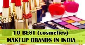 10 top cosmetics makeup brands in india