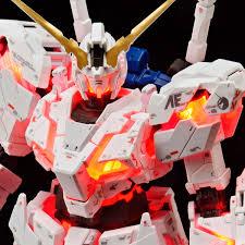 P Bandai Rg 1 144 Unicorn Gundam Destroy Mode Lighting