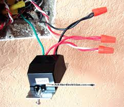 this 3 way dimmer switch is wired as follows the green ground lead attaches to the switch box ground wire the red and white travelers are attached to