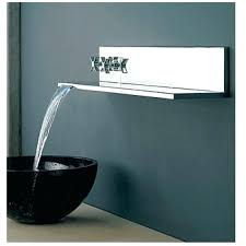 wall mounted bathtub faucets outstanding chrome polished waterfall wall mount bathtub faucet and shower inside wall