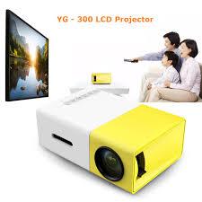<b>YG300 YG 300 Mini LCD</b> Projector <b>Full</b> HD Video Projector LED ...