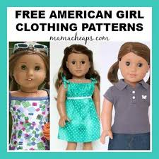 American Girl Clothes Patterns Mesmerizing Sandi Pointe Virtual Library Of Collections