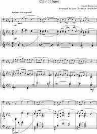 clair de lune sheet music guitar smashwords clair de lune pure sheet music for piano and cello by