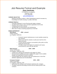 examples of resumes example job resume format 002 choose ideas 87 marvelous job resume format examples of resumes