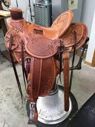 Pin by Ryker Johnson on Wade saddles | Roping saddles, Wade saddles,  Western leather