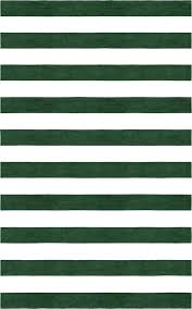 area rugs stripe hand tufted wool dark green white rug and black size rectangle 5 x