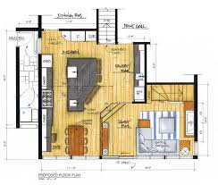 free kitchen floor plan templates. the final plan: after exploring more than a dozen layout options, this was winning plan. along with catwalk, walls around pantry area will free kitchen floor plan templates e