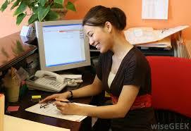 front desk clerk hotel hostgarcia