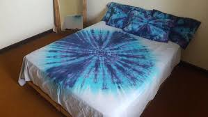tie dye bedding bohemian bedding doona