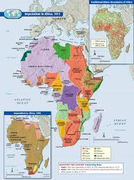 A map of imperialism in Africa during The Great War  It shows how     Reunion Black Family