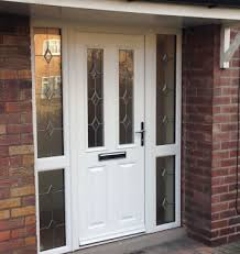 white front doorsComposite  uPVC Entrance Doors in Yorkshire  K Glazing