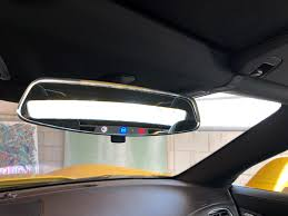 Cop Lights Rear View Mirror The Engineers At Gm Designed My Rear View Mirror With Lights