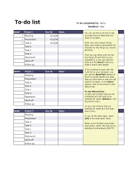 To Do List Or To Do List 19 To Do List Templates And Examples Pdf Examples