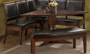 dining bench faux leather. dining bench faux leather contemporary table f