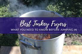 best turkey fryers