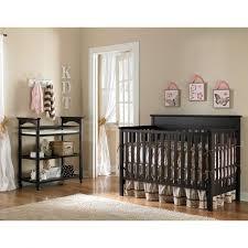 decor black finish heritage crib