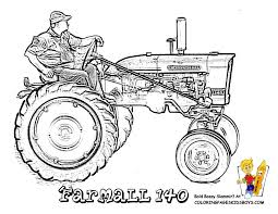 Small Picture free coloring tractor of Farmall 140 Gritty Tractor Coloring