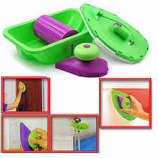 decorative paint roller and tray set painting brush paint pad pro point n paint household wall tool multifunctional