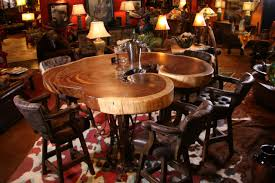 rustic dining room tables. Live Edge Pub Table, Parotha Wood Slab Rustic Dining Room Tables