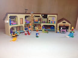 Lego Full House Lego The Simpsons House 71006 Full Review Youtube