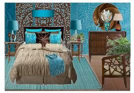 Great Turquoise U0026 Brown Bedroom ...