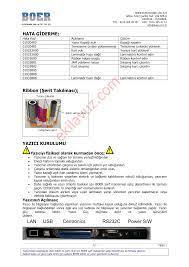 Edisecure LES 9000 Lazer Yazıcı - Kullanma Kılavuzu - Sayfa:7 - ekilavuz.com