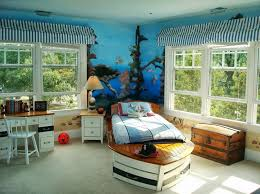 cool kid bedrooms. Cool Bedroom For Kids With Nautical Theme Kid Bedrooms E