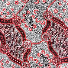 women dreaming 2 black australian aboriginal quilt fabric m s textiles