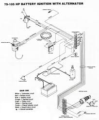 Engine wiring chrysler wiring diagrams 75 105 hp battery ignition