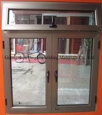 aluminum window with frame for ghana
