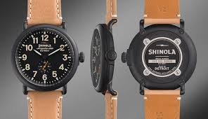 shinola detroit made watches q a nordstrom men s blog shinola the runwell in natural black