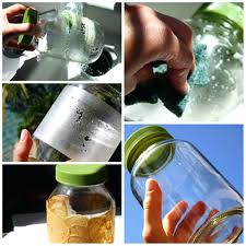 removing adhesive labels from glass bottles how to remove stickers jars balanced jar collage 1