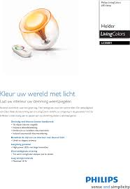 Philips Lcs5001 Leaflet Lcs500105 Released Netherlands Dutch User