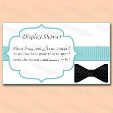 For Baby Shower Invitation Boy Display Shower Bring Your Gifts