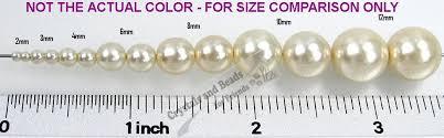 Czech Round Glass Imitation Pearls Fuchsia Nacre Pearl