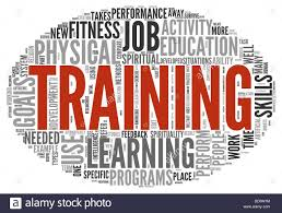 Training And Education Related Words Concept In Tag Cloud Stock