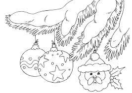 Kleurplaat Kerstballen Afb 23375 Images
