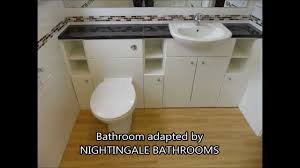 Nightingale Bathrooms Disability Bathrooms In Kent YouTube - Disability bathrooms