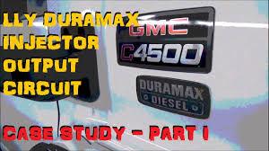 duramax lly ficm injector trouble misfire part 1 youtube lly duramax wiring harness problems at Lly Duramax Wiring Harness
