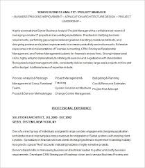 Entry Level Business Analyst Resume Sample Business System Analyst Resume  Samples YuvaJobs Doc