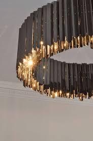 black modern chandeliers. Nice Golden Light : Facet Chandelier Black Nickel Contemporary Lighting Project By Tom Kirk Modern Chandeliers E