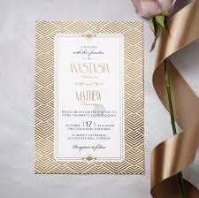 Luxurious And Glamourous Invite Great Gatsby Inspiration