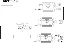 page 2 of kicker stereo amplifier zx250 2 user guide installation as easy as 1 2 3