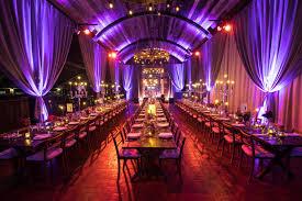 lighting for parties ideas. Barn Interior Table Setting With Drapes And Lighting For Parties Ideas